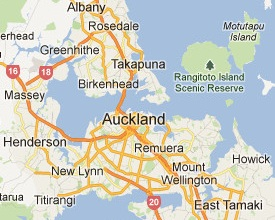Auckland House Painting Map
